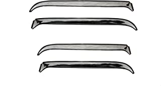 Auto Ventshade 14088 Ventshade with Stainless Steel Finish, 4-Piece Set for 1979-1982 Ford LTD & Mercury Marquis, 1983-1991 Grand Marquis, 1987-1991 LTD Crown Victoria