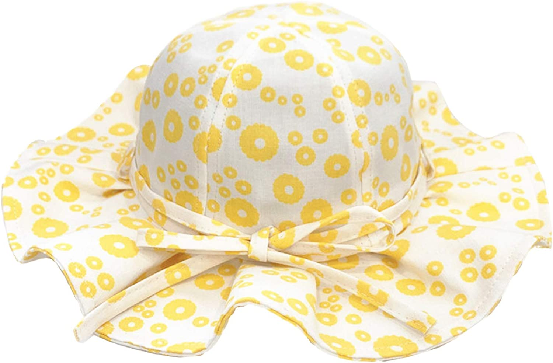 Aelidiya Ranking TOP15 Girls' Bucket Hat Trust Sun Toddler for Kids Baby UV