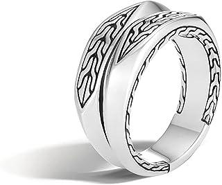 MEN's Classic Chain Silver Ring