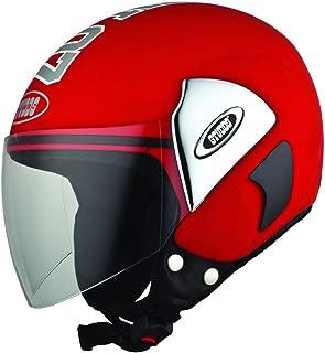 Studds Cub 07 Half Helmet (Red, M)
