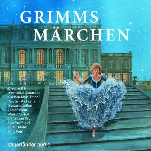 Grimms Märchen audiobook cover art
