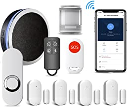 Sponsored Ad - US:E Alarm Kit, Wi-Fi Smart Home Security System, 9 Pieces-Kit, Motion Sensor, Door & Window Contact Senso...