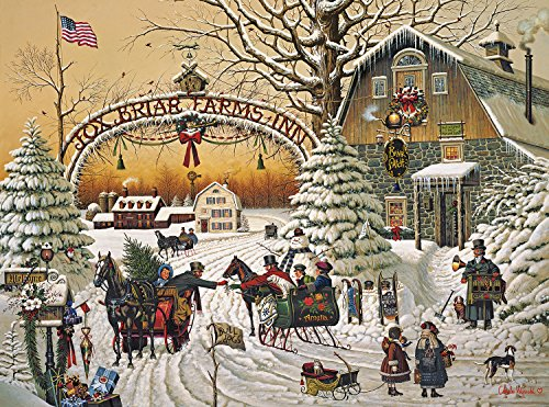 Buffalo Games - Charles Wysocki - A Christmas Greeting - 1000 Piece Jigsaw Puzzle