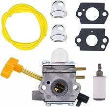 FitBest Carburetor with Fuel Line Fuel Filter for Homelite 308054041 UT-09520 UT-09521 UT-09523 UT-09525