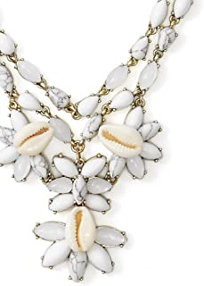 Anthropologie Malana Shell Necklace by BaubleBar - NWT