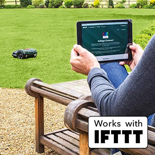 Bosch Roboter Rasenmäher Indego S+ 350 (mit App-Funktion, 19 cm Schnittbreite, für Rasenflächen bis 350 m²) - 7