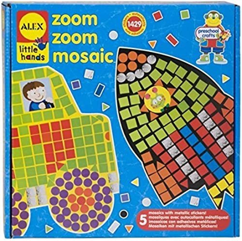 ALEX Toys Peu Hands Zoom Zoom Mosaic by ALEX Toys