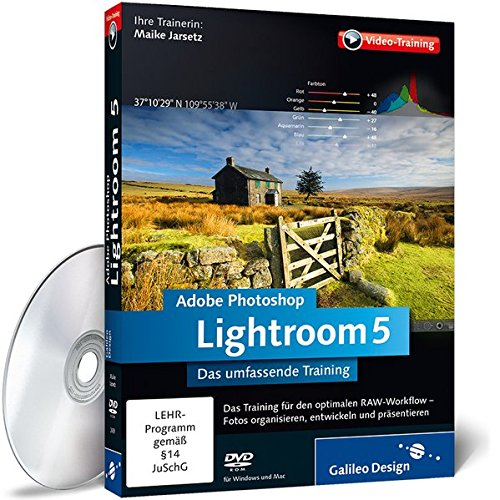 Adobe Photoshop Lightroom 5 - Das umfassende Training [import allemand]
