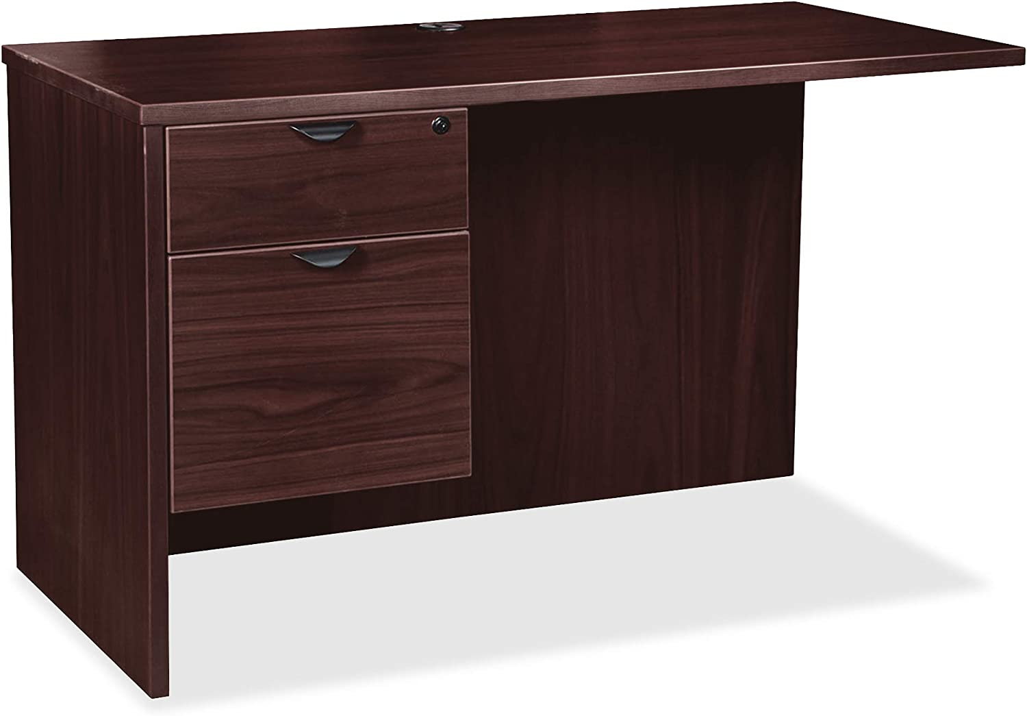 Lorell New York Mall Prominence Max 63% OFF 2.0 Return Espresso Laminate Mela Thermofused