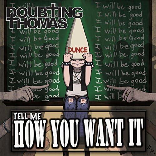 Doubting Thomas