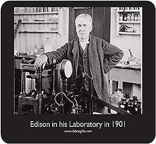 "Historic ""Thomas Edison"" Mouse Pad"