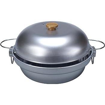 キャプテンスタッグ(CAPTAIN STAG) バーベキュー BBQ用 大型燻製鍋 スモーク対応M-6548