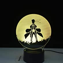 Lámpara De Ilusión 3D Luz De Noche Led Cartel De Naruto Uzumaki Para Decoración De Dormitorio Mejor Para Cumpleaños De Niños O Regalos De Vacaciones