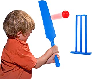 Coxeer Kids Cricket Set Portable Sports Game Set Cricket Training Toy for Children