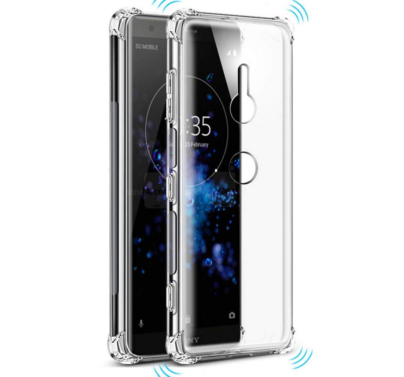 Tumundosmartphone Funda Gel TPU Anti-Shock Transparente para Sony ...