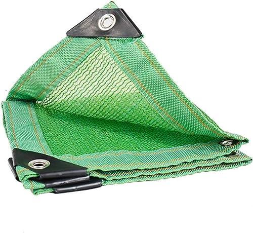 Gxmyb Bache Nuance 6 Broches Net Net Edge Cryptage écran Solaire Isolation de Balcon Viande Nette Nuance végétale (Taille   5mx8m)