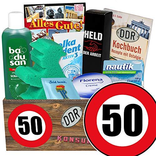 50. Geburtstag / Geschenkidee zum 50. Geburtstag / DDR Pflegebox