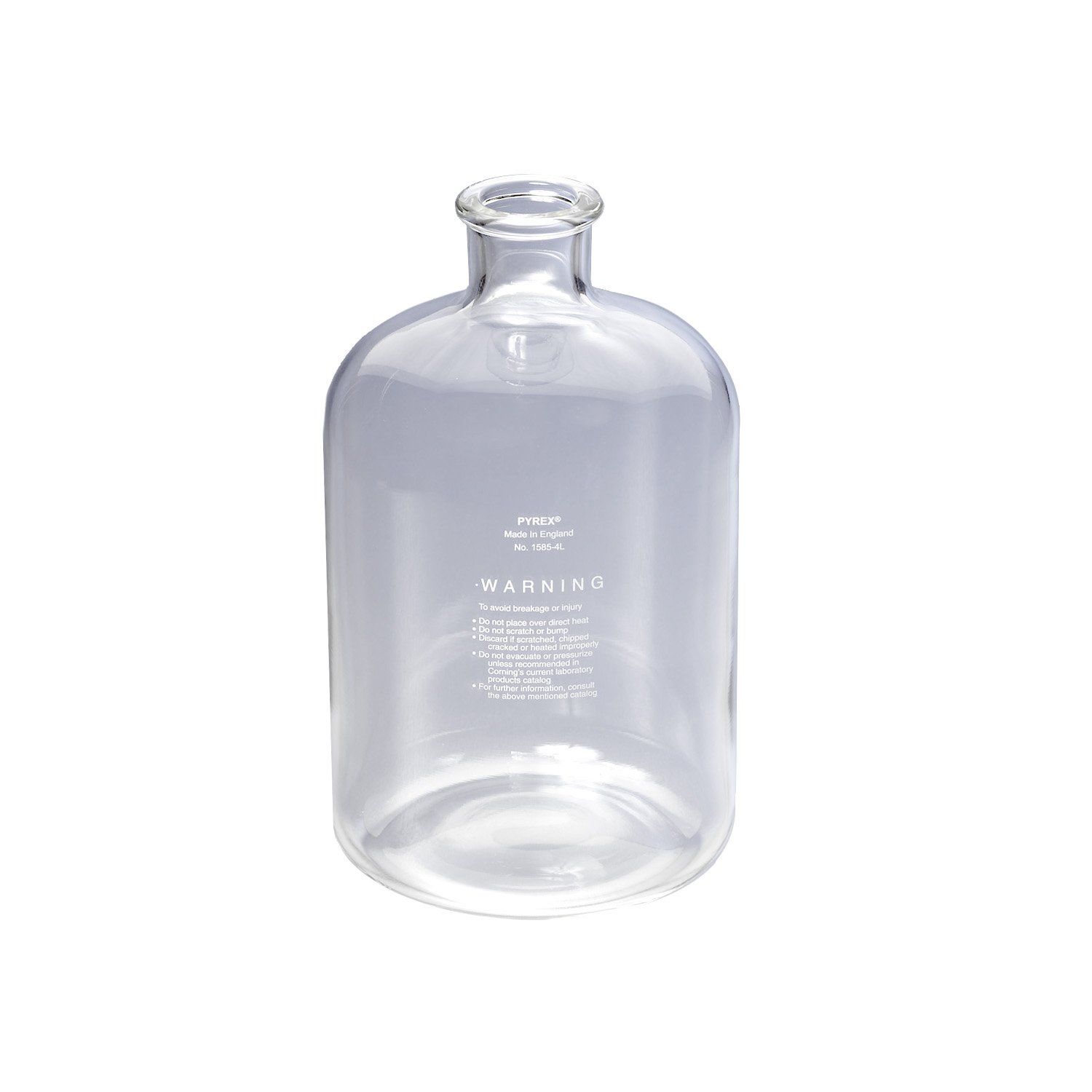 Corning Pyrex Serum Bottle 4L New arrival With Neck Tooled New product type