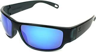 9434154f21e Vuarnet VL1621 0006 (Black - Grey with Grey green polarised with Blue  mirror effect lenses