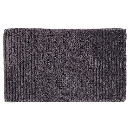 Sealskin badmat antislip absorberend, katoen, antraciet, 80 x 50 x 3 cm