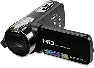 "AKDSteel FHD 1080P 24MP 2.7"" TFT LCD 16XZOOM Digital Video Recorder DV AV Camera Camcorder EU Plug"
