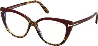 Tom Ford FT 5673-B BLUE BLOCK Burgundy Havana 54/15/140 women eyewear frame
