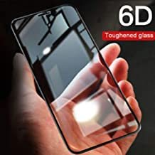 Doubledicestore Edge to Edge 6D/11D Full Tempered Glass Compatible with Realme X (Black)