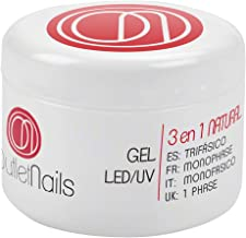UV Gel Trifasico Natural 15ml para uñas de gel - Viscosidad media - Outlet Nails