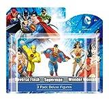 Monogram DC 4 Figures - 3 Pack Box - Yellow Flash, Superman, Wonder Woman