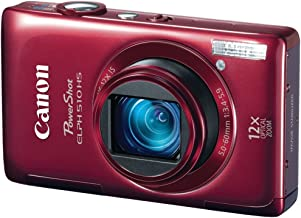 Canon ELPH 510 HS R  |Red