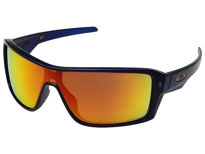 Oakley Ridgeline (Matte Translucent Blue/Prizm Ruby) Sport Sunglasses
