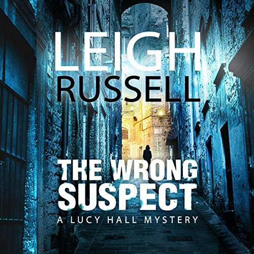 The Wrong Suspect audiobook cover art