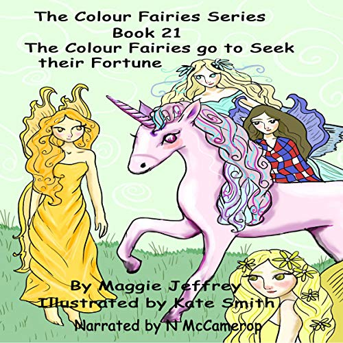 『The Colour Fairies Go to Seek Their Fortune』のカバーアート