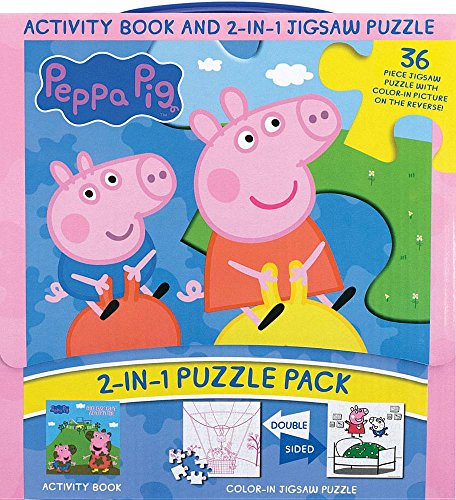 Peppa Pig 2-in-1 Puzzle Pack: Activity Book and 2-in-1 Jigsaw Puzzle
