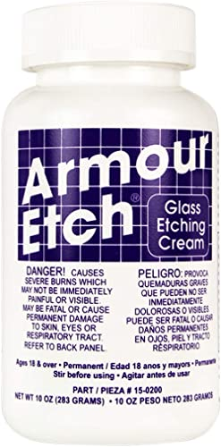 Armour Etch 15-0200 Etching Cream, White, 10