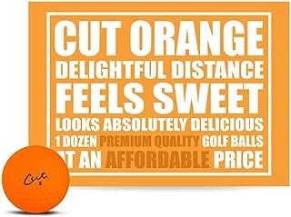 Cut Golf Balls, Matte Colored (One Dozen)