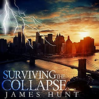 Surviving the Collapse: audiobook cover art