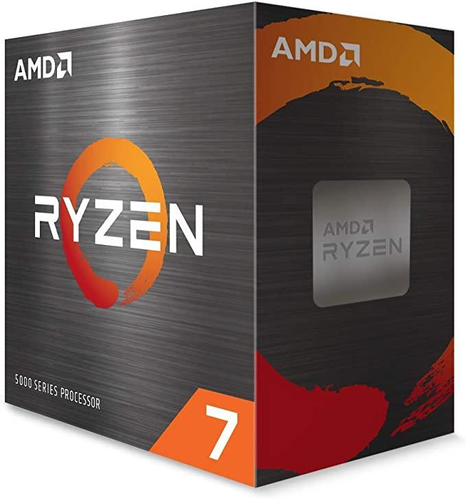 Amd Ryzen 7 5800x Box Processor Computers Accessories