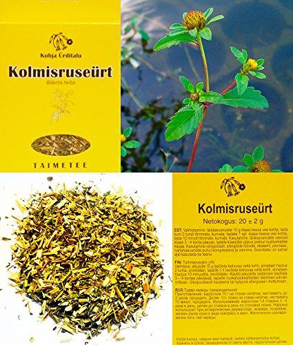 trifid bur-maravilla, bidentis herba, alergia, dermatitis, eczema, psoriasis, hierbas, natural, orgánico la calidad del producto en la imagen puede ser ligeramente diferente