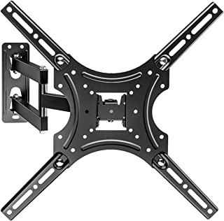 LONENESSL TV Wall Mount Bracket, TV Mount Full Motion Articulating Arm for 32-55 inch TVs up to VESA 400x400 mm and 55 LBS...