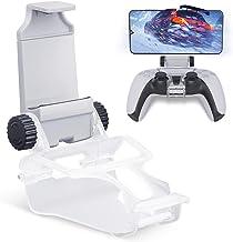 Clipe de suporte de telefone para controle PS5, suporte dobrável para celular Honeywhale, braçadeira de suporte com suport...