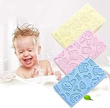 ANGELA 3 Piece Bath Brush Strong Cleaning Sponge Baby Adult Back to Facilitate Good Effect Home Bathroom Bath Essential Artifact (Random Color)
