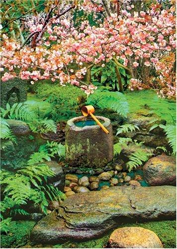 Zen-Gärten: Brunnen (Inneres Wissen/Lernen) (Feng Shui Energiebilder)