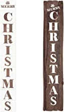 Mocoosy Christmas Stencils Template - Merry Christmas Letter Stencils Set Xmas Sign Reusable Plastic Holiday Stencils for Painting Drawing Crafts Spraying Wall Door Window Glass Wood and More