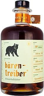 LAUX Bärentreiber Kräuterhalbbitter - Premium Likör - Würzige, Harmonische Noten & Feinherbes Aroma - Hochwertige Zutaten - 38 % Vol. & 0,5 L