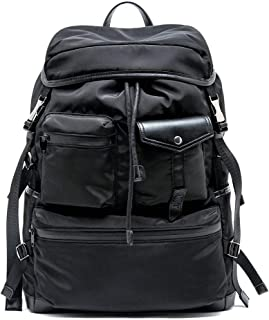 OMT Backpack for Men, 30L Large Capacity Lightweight Waterproof Durable Fashion Weekend On Travel Daypack-Black