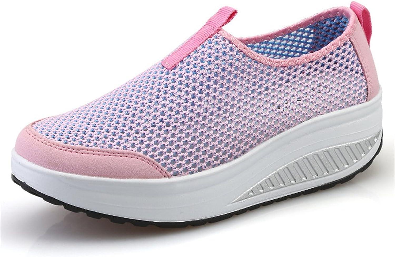 FUN.S Women's Athletic shoes Casual Mesh Walking Sneakers Tennis Sneakers