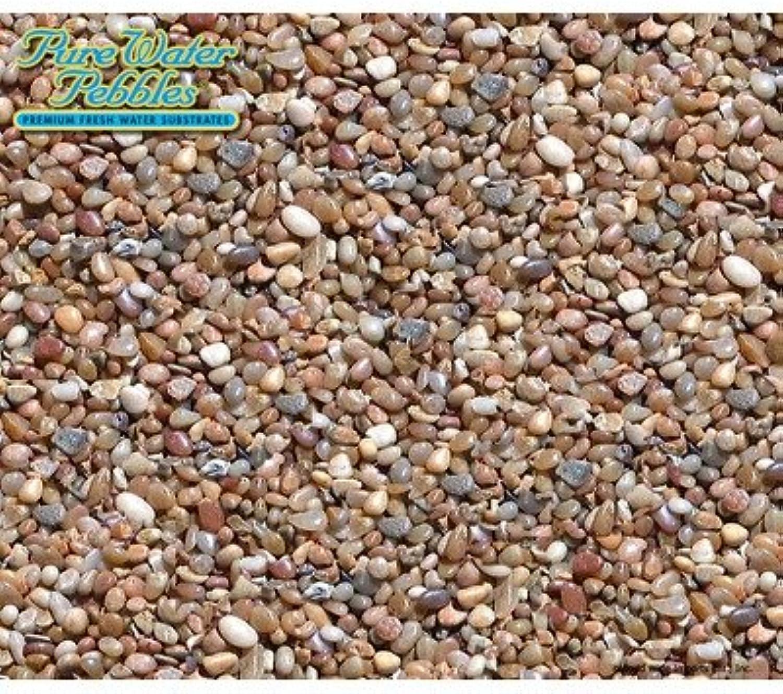 800 Premium Fresh Water Aquarium Substrates  30 lbs [Set of 6] color  Salt and Pepper