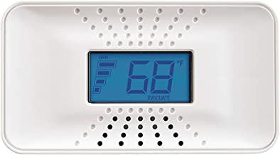 First Alert Carbon Monoxide Detector with 10-Year Battery and Digital Temperature Display, CO710