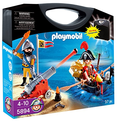 PLAYMOBIL - Piratas, Maleta (58940)